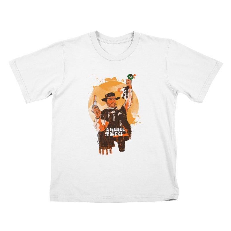 A Fistful of Ducks Kids T-Shirt by kooky love's Artist Shop