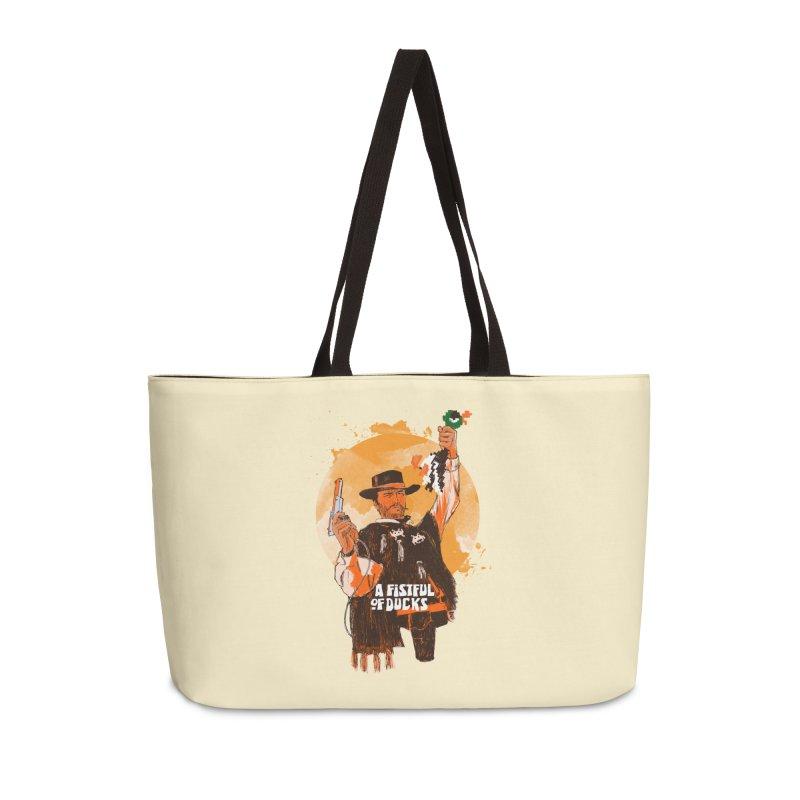 A Fistful of Ducks Accessories Weekender Bag Bag by kooky love's Artist Shop