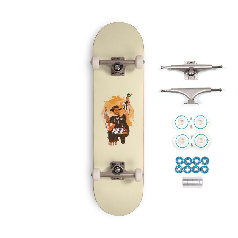 A Fistful of Ducks Accessories Complete - Basic Skateboard by kooky love's Artist Shop