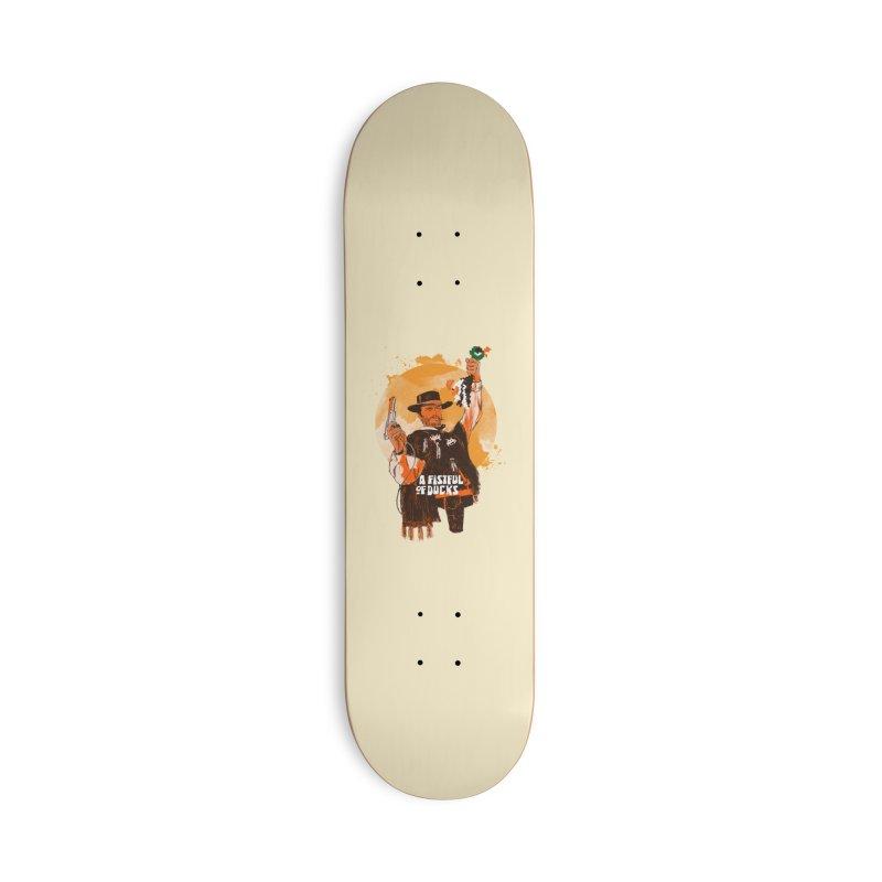 A Fistful of Ducks Accessories Deck Only Skateboard by kooky love's Artist Shop