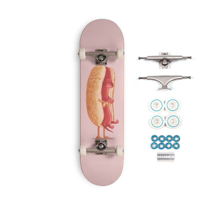 Hug Dog Accessories Complete - Basic Skateboard by kooky love's Artist Shop