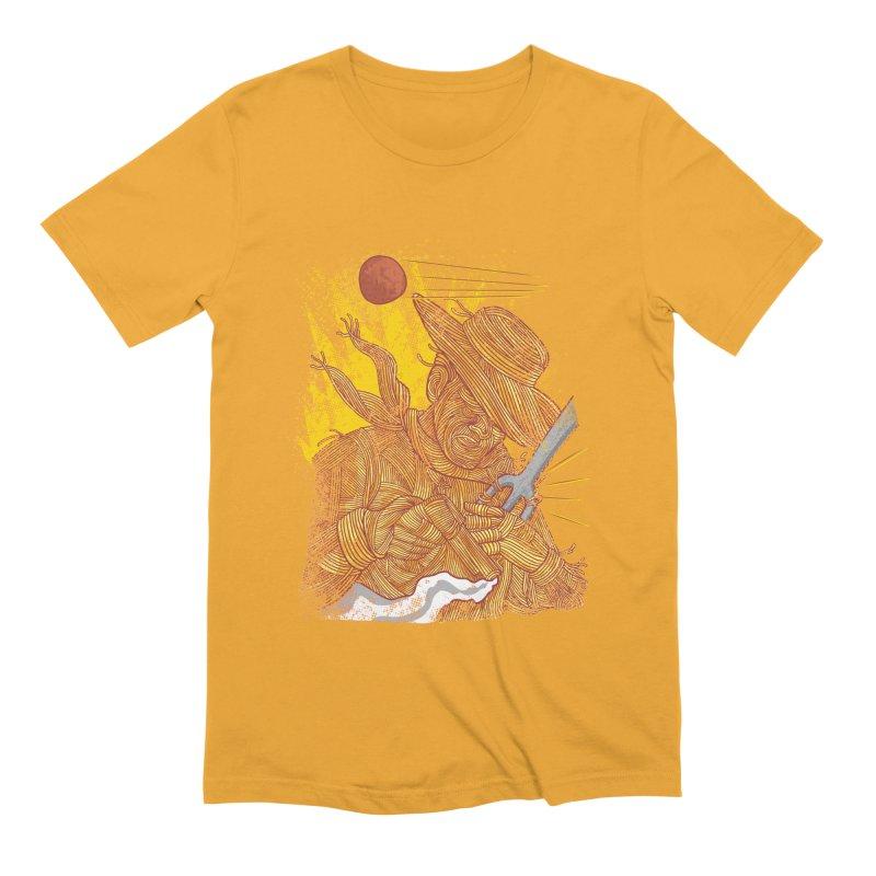 Spaghetti Cowboy Men's Extra Soft T-Shirt by kooky love's Artist Shop
