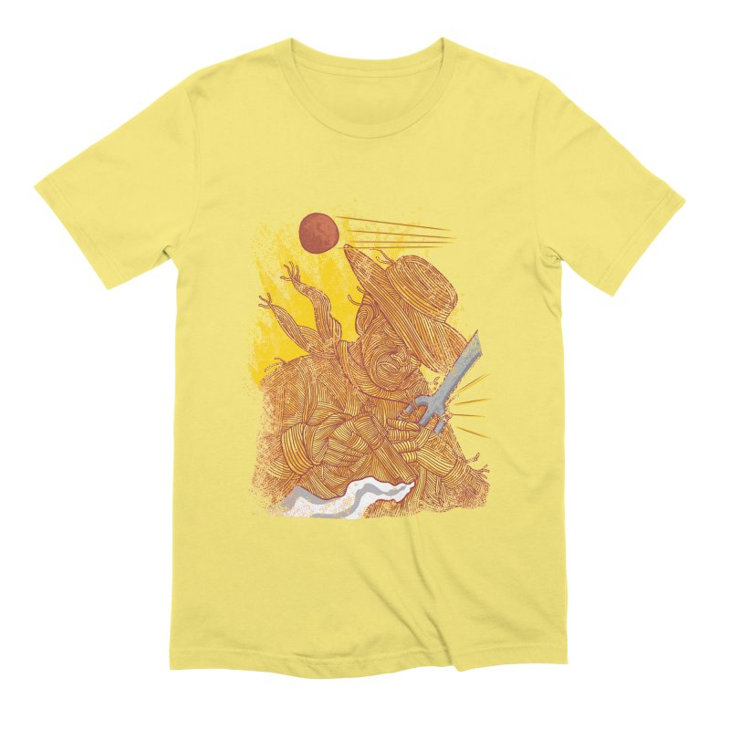 Spaghetti Cowboy Men's T-Shirt by kooky love's Artist Shop