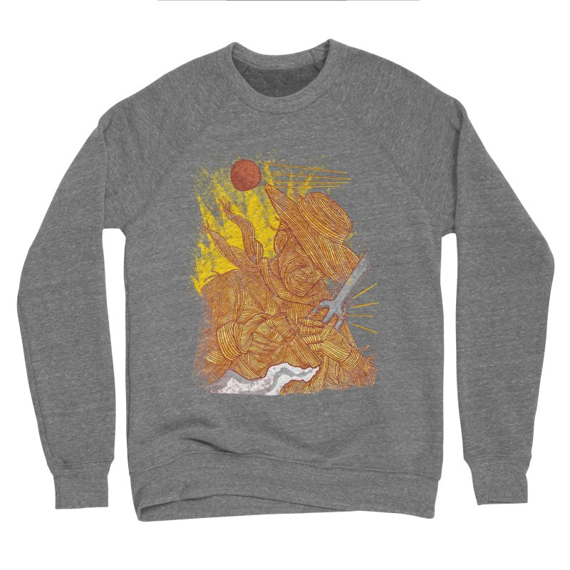 Spaghetti Cowboy Men's Sponge Fleece Sweatshirt by kooky love's Artist Shop