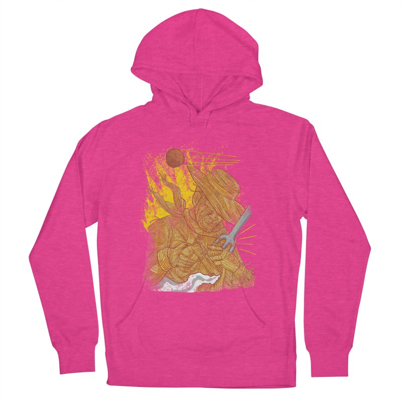 Spaghetti Cowboy Men's French Terry Pullover Hoody by kooky love's Artist Shop