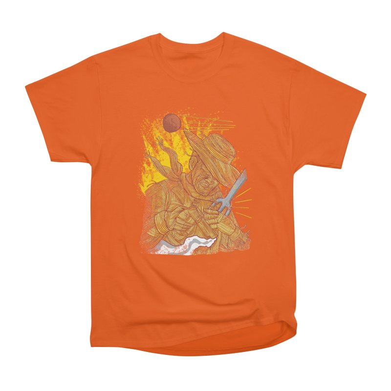 Spaghetti Cowboy Men's Heavyweight T-Shirt by kooky love's Artist Shop