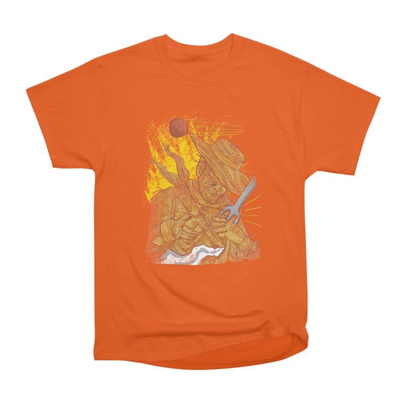 Spaghetti Cowboy Women's Heavyweight Unisex T-Shirt by kooky love's Artist Shop