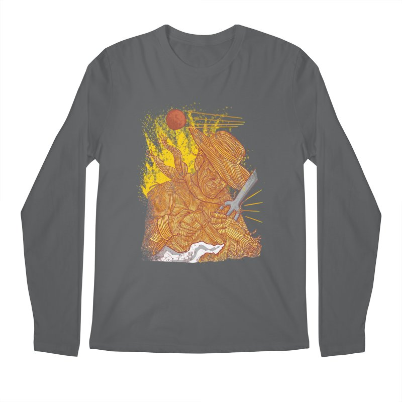 Spaghetti Cowboy Men's Longsleeve T-Shirt by kooky love's Artist Shop