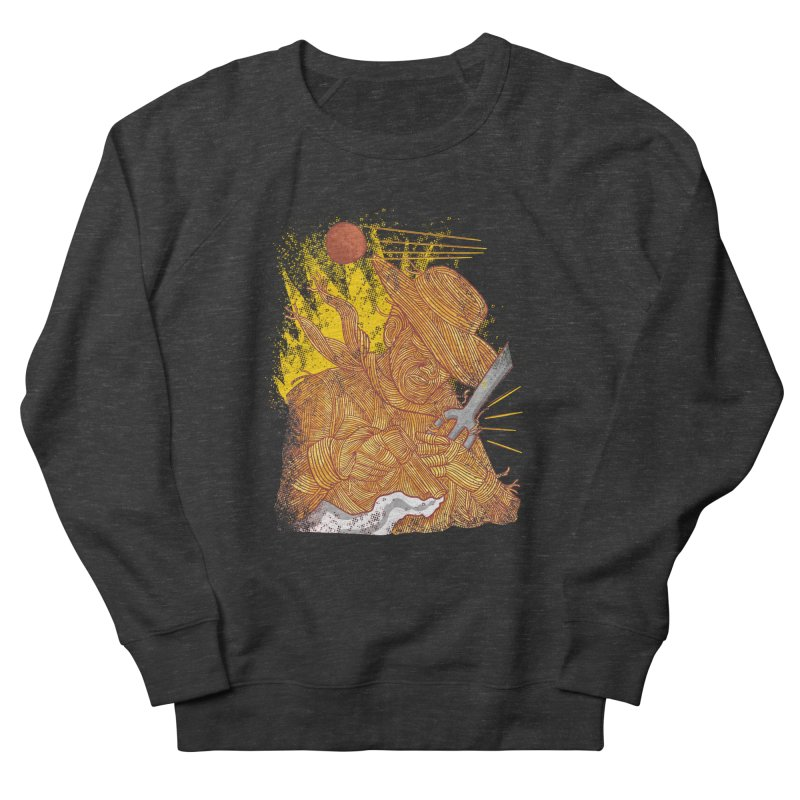 Spaghetti Cowboy Women's Sweatshirt by kooky love's Artist Shop
