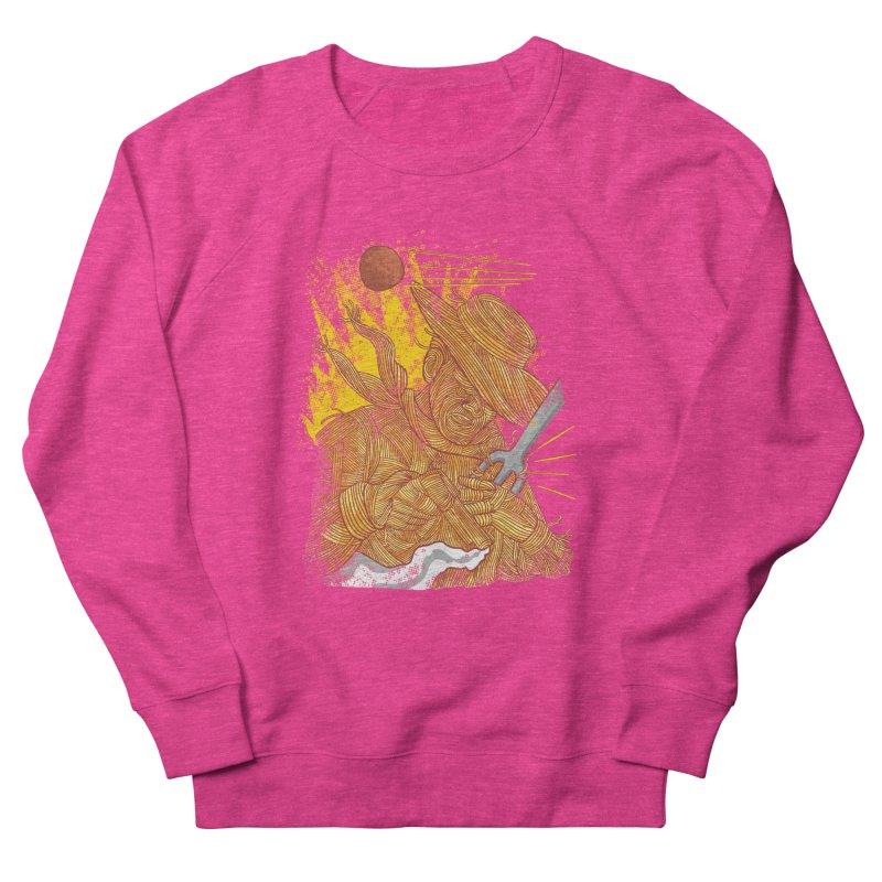 Spaghetti Cowboy Women's French Terry Sweatshirt by kooky love's Artist Shop
