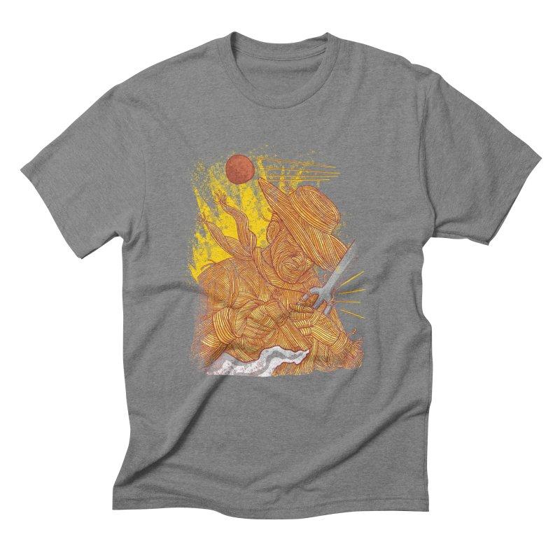 Spaghetti Cowboy Men's T-Shirt by kooky love's Artist Shop
