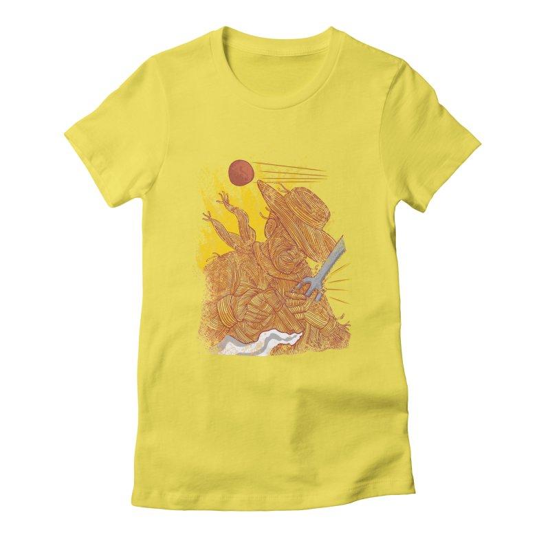 Spaghetti Cowboy Women's T-Shirt by kooky love's Artist Shop
