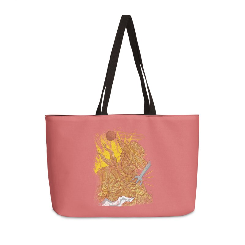 Spaghetti Cowboy Accessories Weekender Bag Bag by kooky love's Artist Shop
