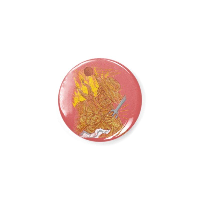 Spaghetti Cowboy Accessories Button by kooky love's Artist Shop