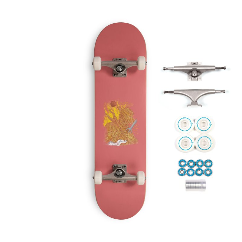 Spaghetti Cowboy Accessories Complete - Basic Skateboard by kooky love's Artist Shop