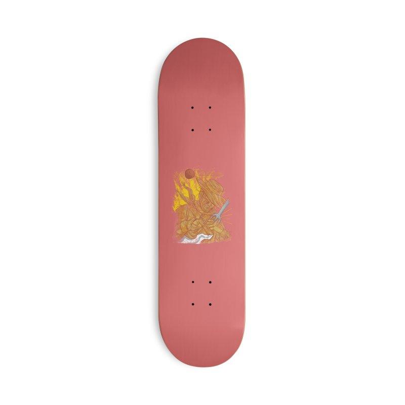 Spaghetti Cowboy Accessories Deck Only Skateboard by kooky love's Artist Shop