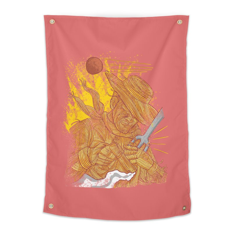 Spaghetti Cowboy Home Tapestry by kooky love's Artist Shop
