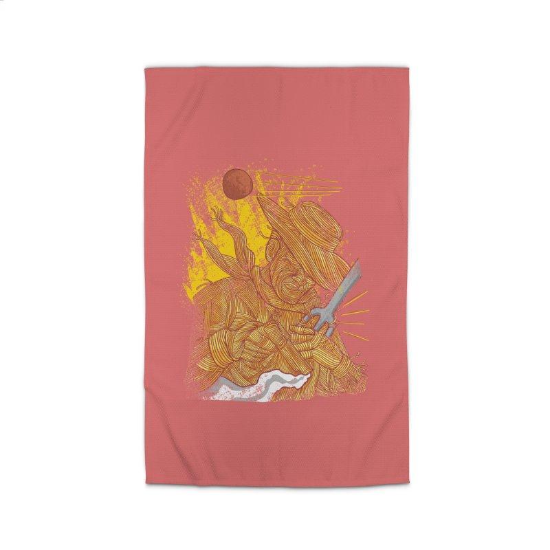 Spaghetti Cowboy Home Rug by kooky love's Artist Shop