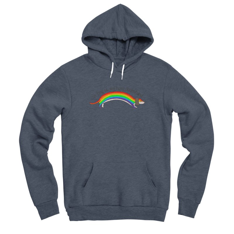 As long As We Have Dachshund Women's Pullover Hoody by kooky love's Artist Shop