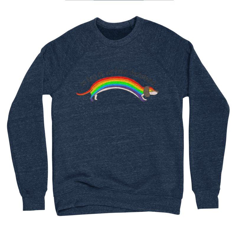 As long As We Have Dachshund Men's Sponge Fleece Sweatshirt by kooky love's Artist Shop