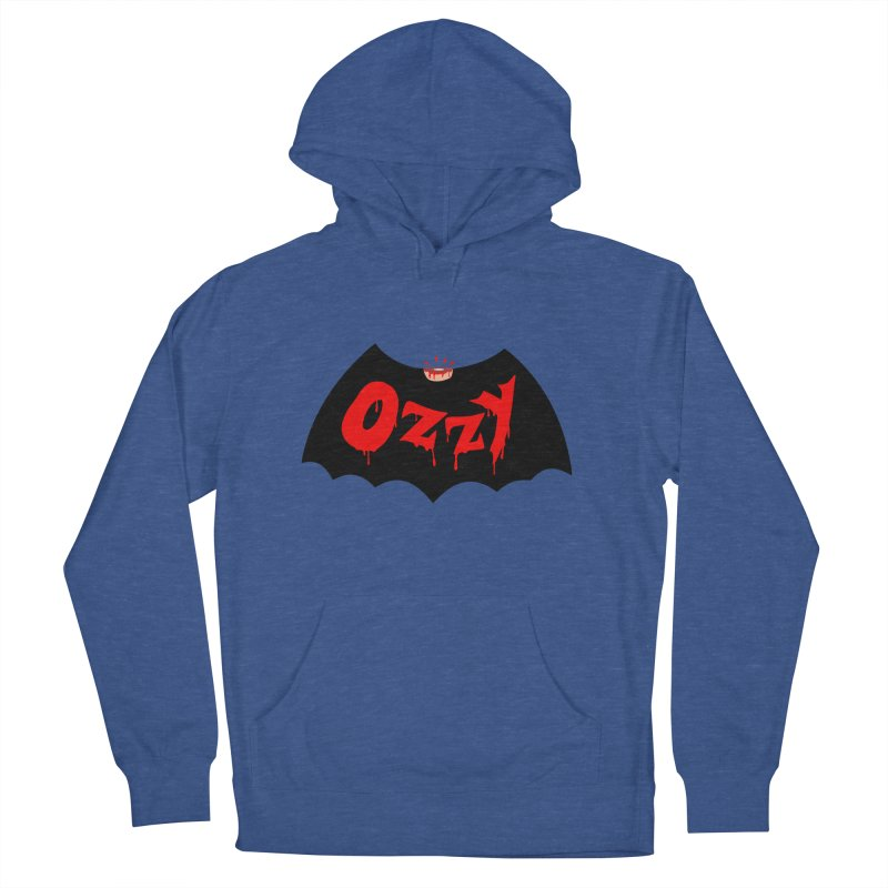 Ozzy Men's French Terry Pullover Hoody by kooky love's Artist Shop