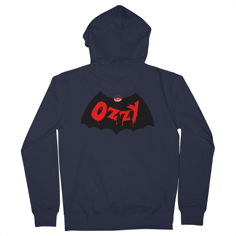 Ozzy Men's French Terry Zip-Up Hoody by kooky love's Artist Shop