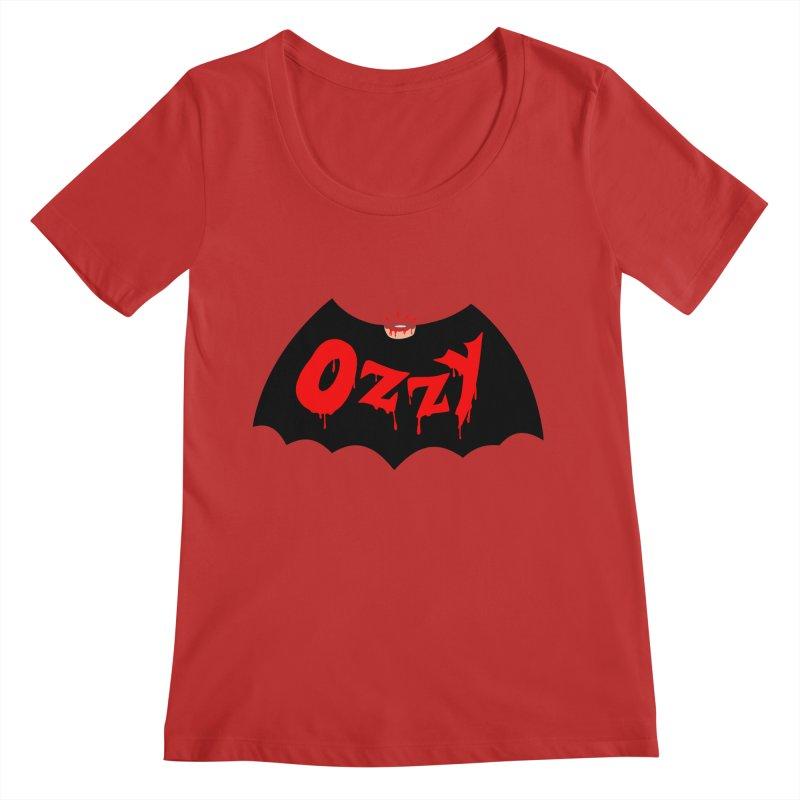 Ozzy Women's Regular Scoop Neck by kooky love's Artist Shop
