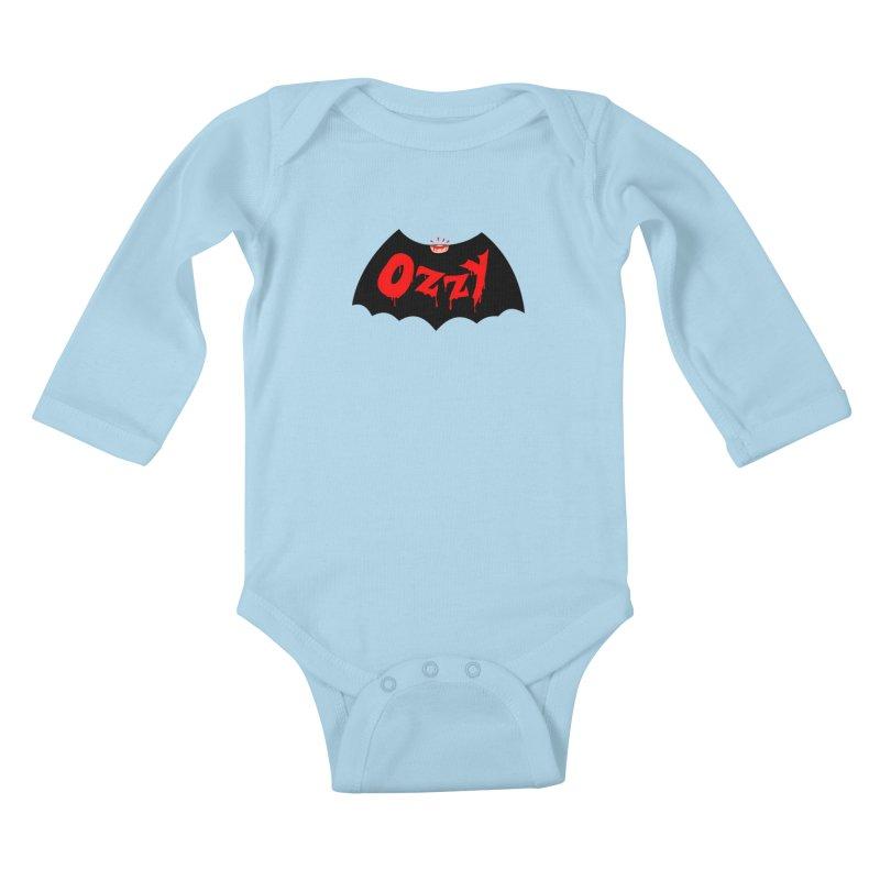 Ozzy Kids Baby Longsleeve Bodysuit by kooky love's Artist Shop