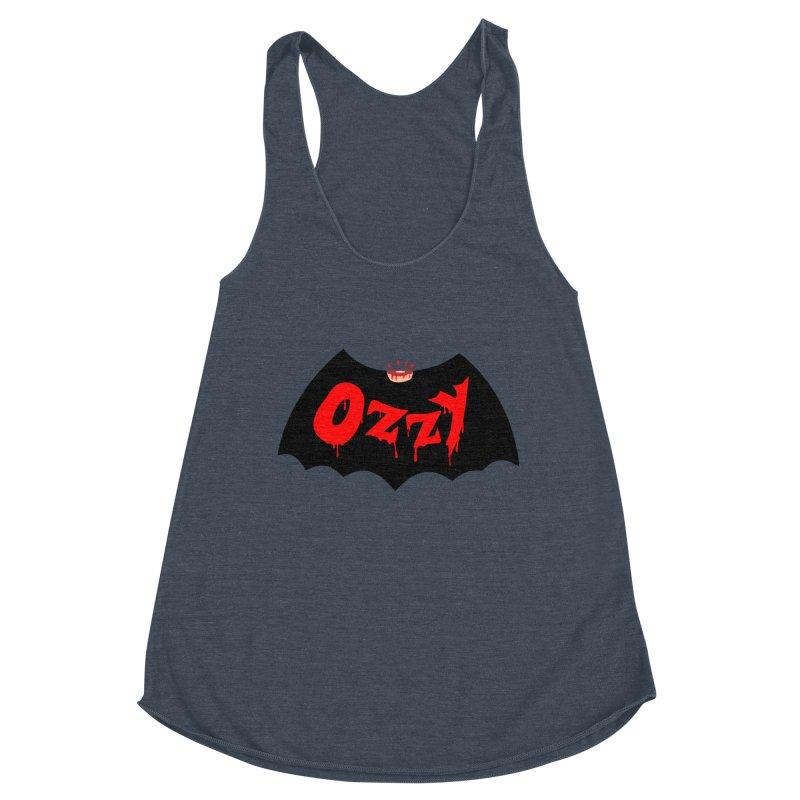 Ozzy Women's Racerback Triblend Tank by kooky love's Artist Shop