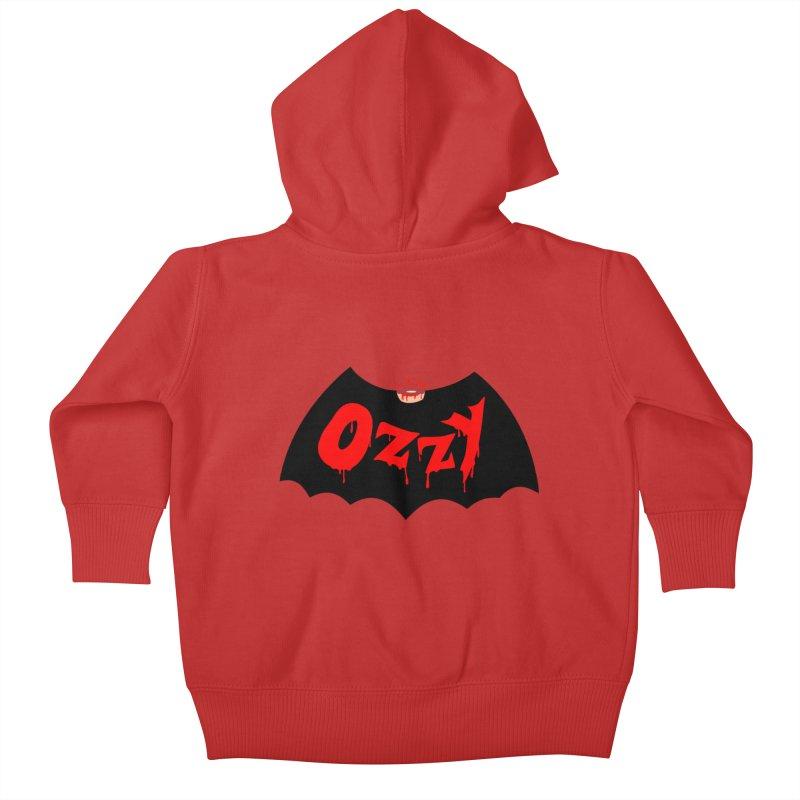 Ozzy Kids Baby Zip-Up Hoody by kooky love's Artist Shop
