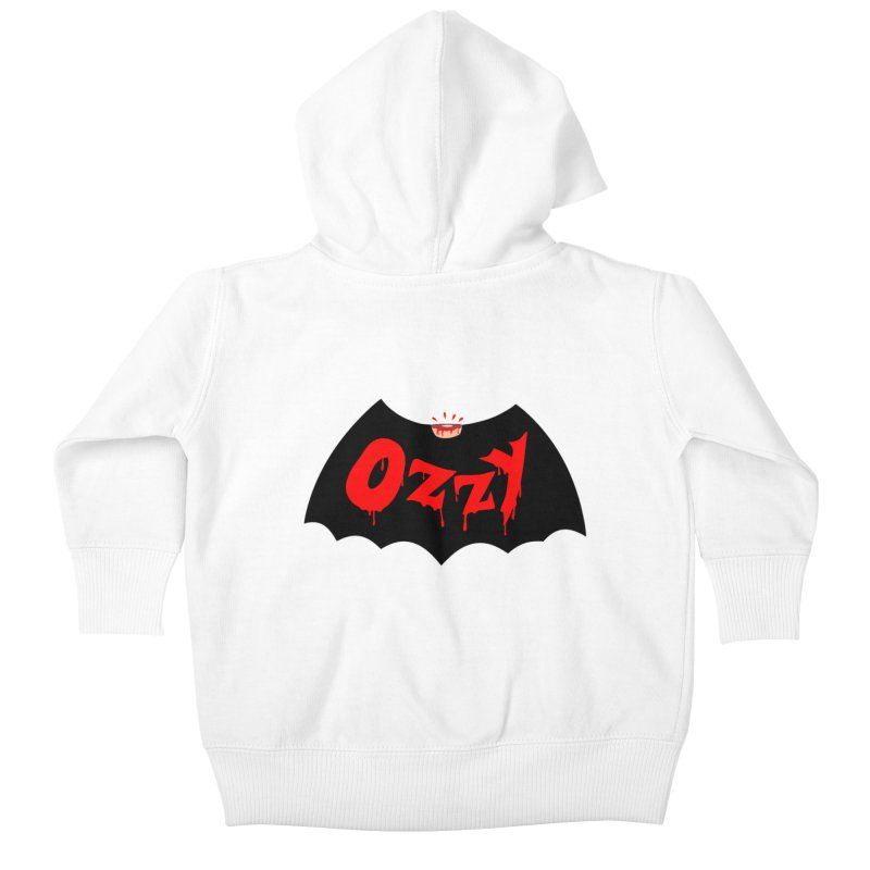 Ozzy Kids Baby Zip-Up Hoody by kooky love's Artist Shop