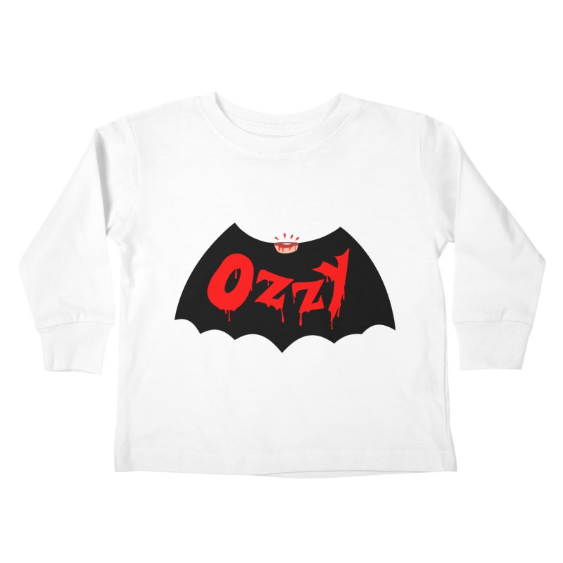 Ozzy Kids Toddler Longsleeve T-Shirt by kooky love's Artist Shop