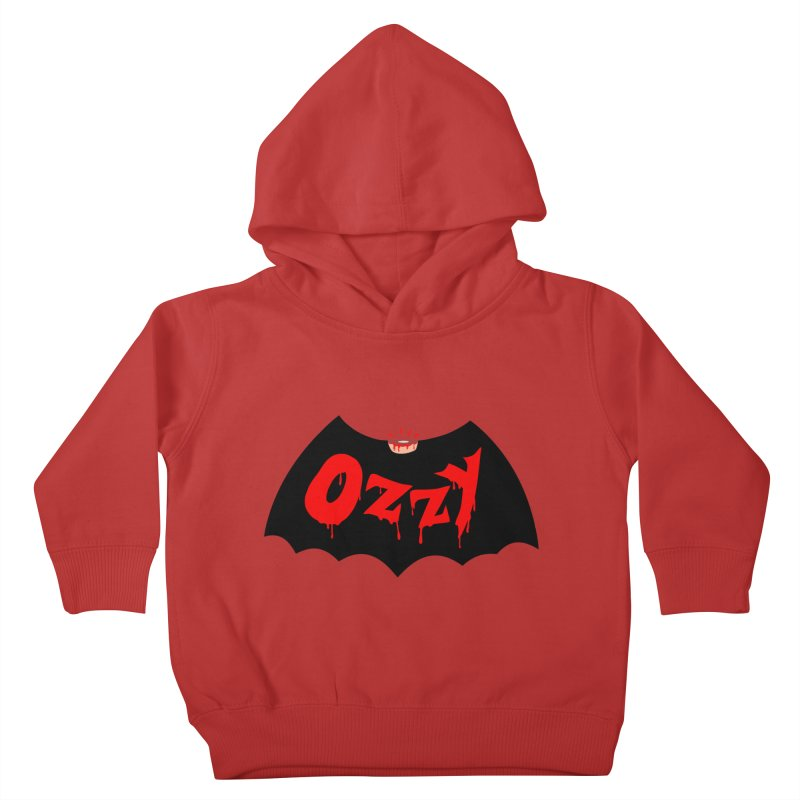 Ozzy Kids Toddler Pullover Hoody by kooky love's Artist Shop