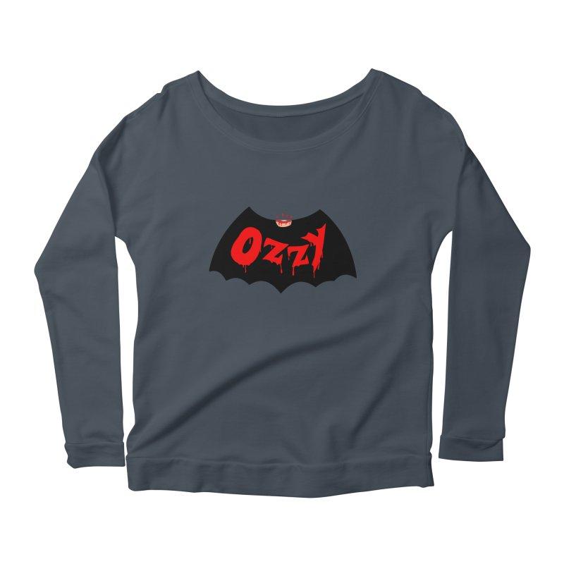 Ozzy Women's Scoop Neck Longsleeve T-Shirt by kooky love's Artist Shop