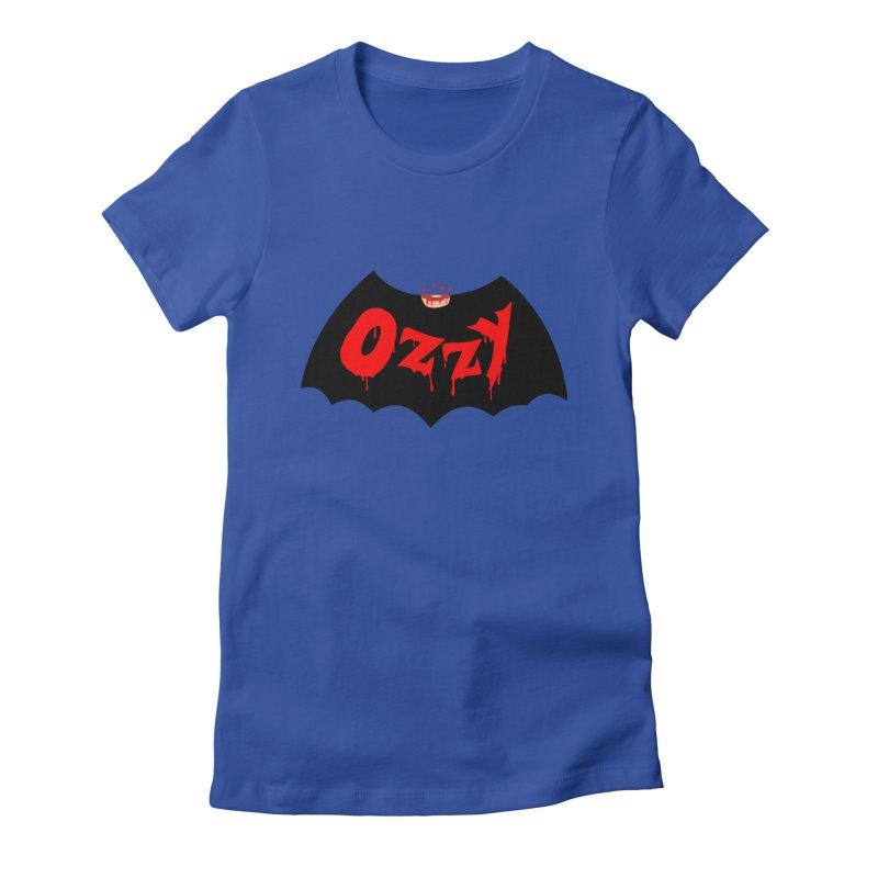 Ozzy Women's Fitted T-Shirt by kooky love's Artist Shop