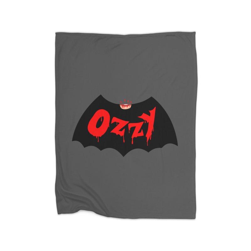 Ozzy Home Fleece Blanket Blanket by kooky love's Artist Shop