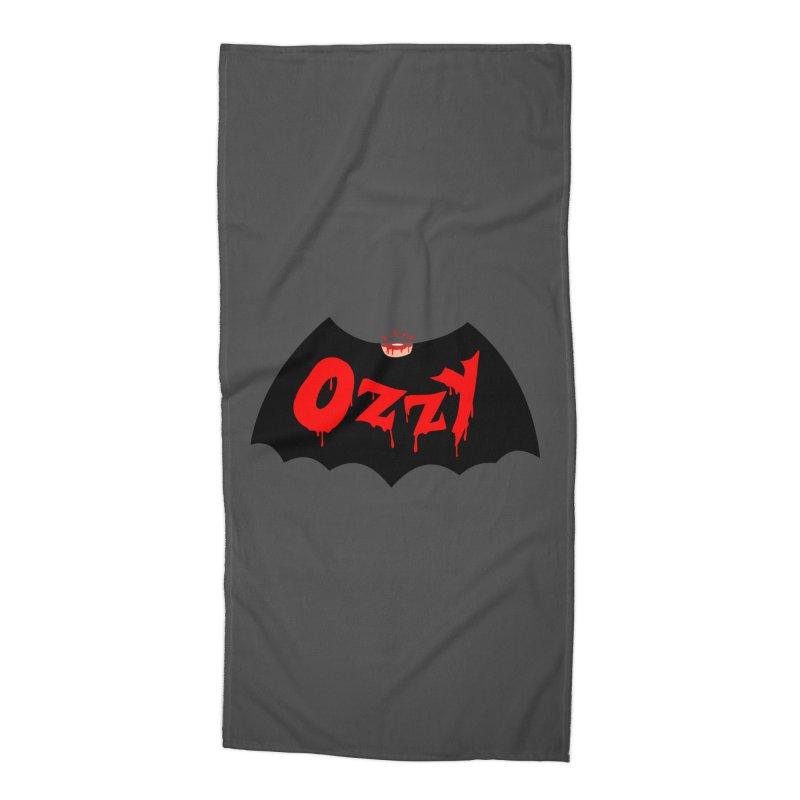 Ozzy Accessories Beach Towel by kooky love's Artist Shop