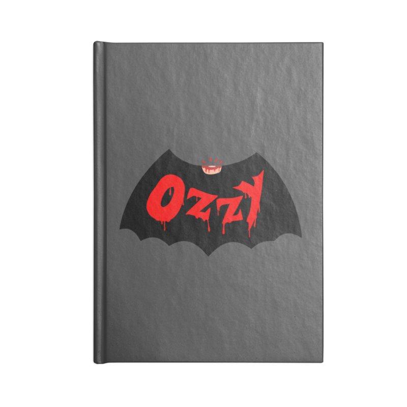 Ozzy Accessories Lined Journal Notebook by kooky love's Artist Shop
