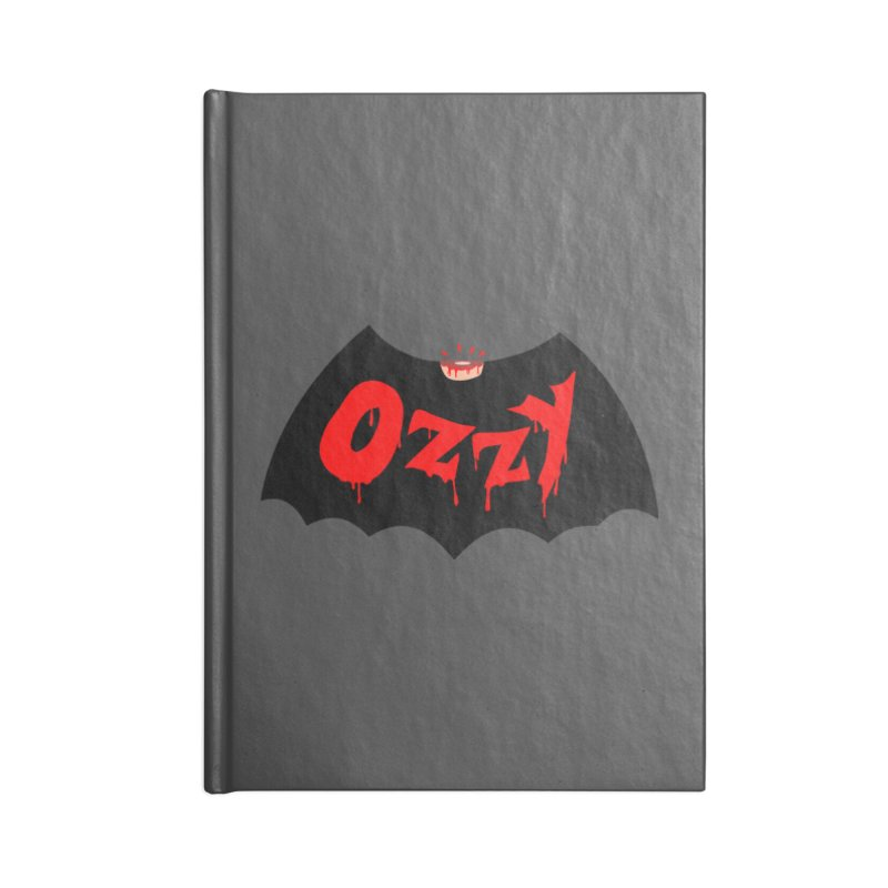 Ozzy Accessories Blank Journal Notebook by kooky love's Artist Shop