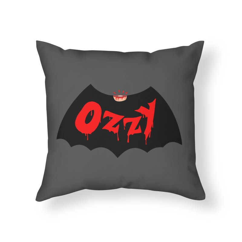 Ozzy Home Throw Pillow by kooky love's Artist Shop