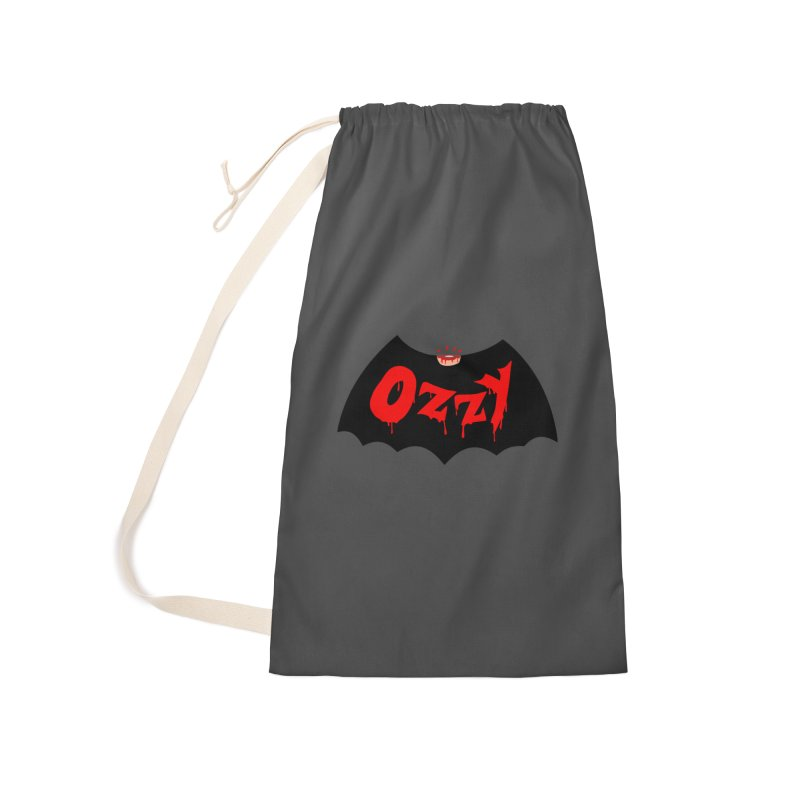 Ozzy Accessories Laundry Bag Bag by kooky love's Artist Shop