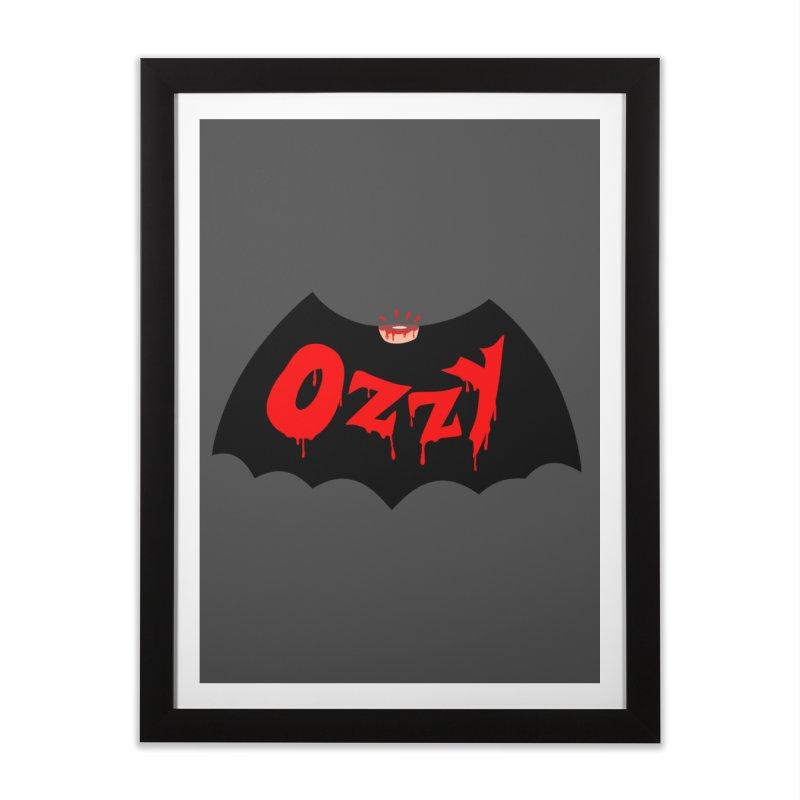 Ozzy Home Framed Fine Art Print by kooky love's Artist Shop