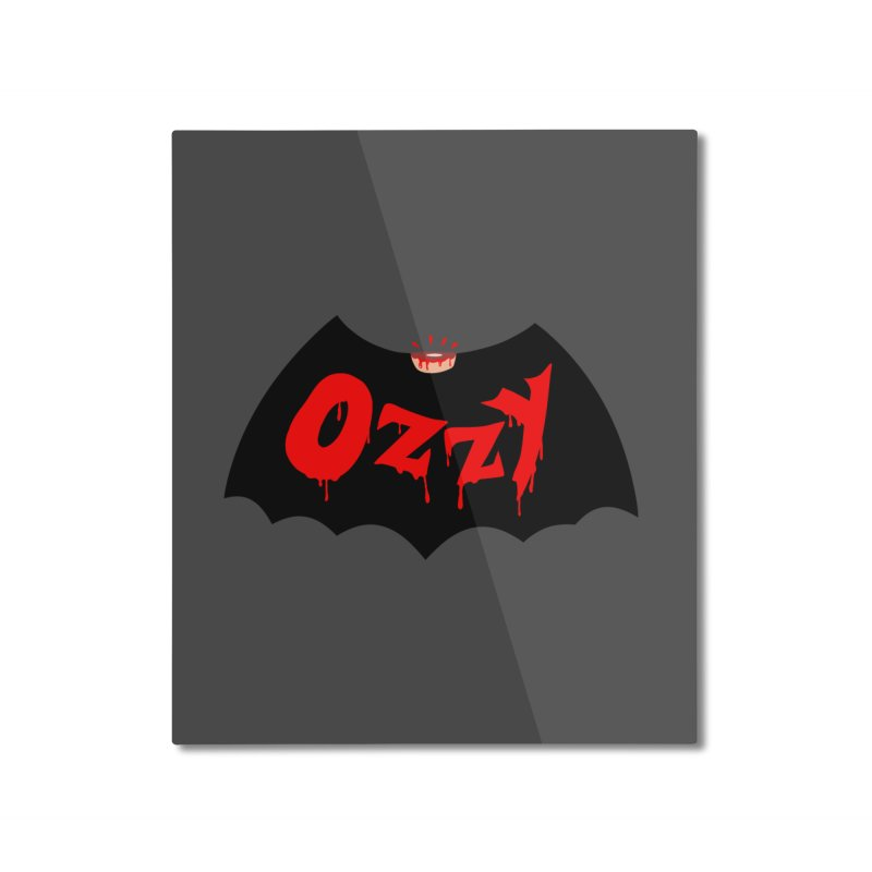 Ozzy Home Mounted Aluminum Print by kooky love's Artist Shop