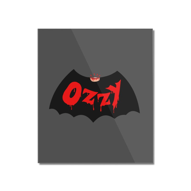 Ozzy Home Mounted Acrylic Print by kooky love's Artist Shop