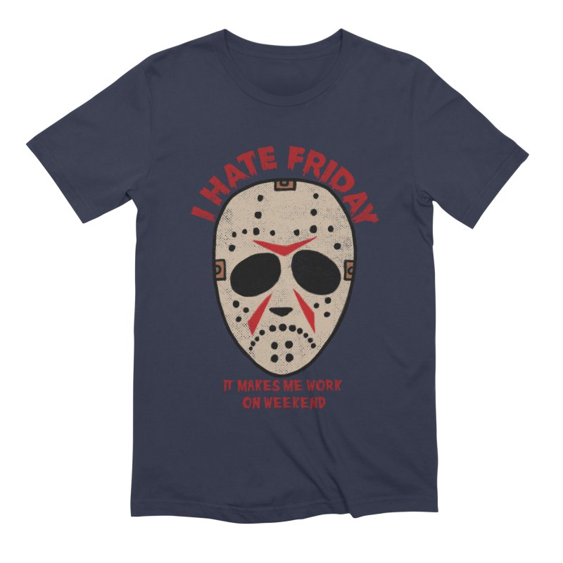 I Hate Friday Men's Extra Soft T-Shirt by kooky love's Artist Shop