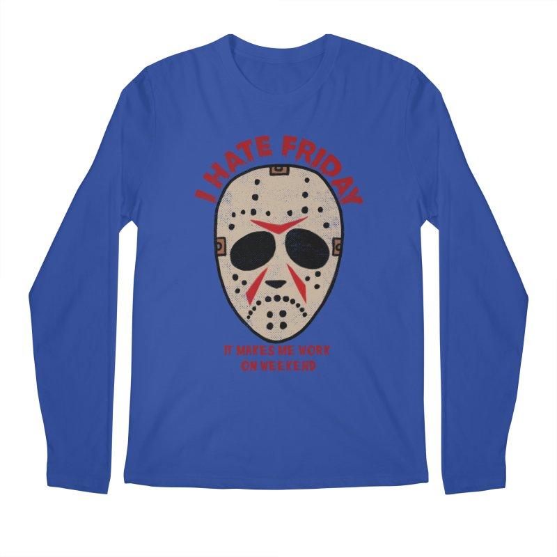 I Hate Friday Men's Regular Longsleeve T-Shirt by kooky love's Artist Shop