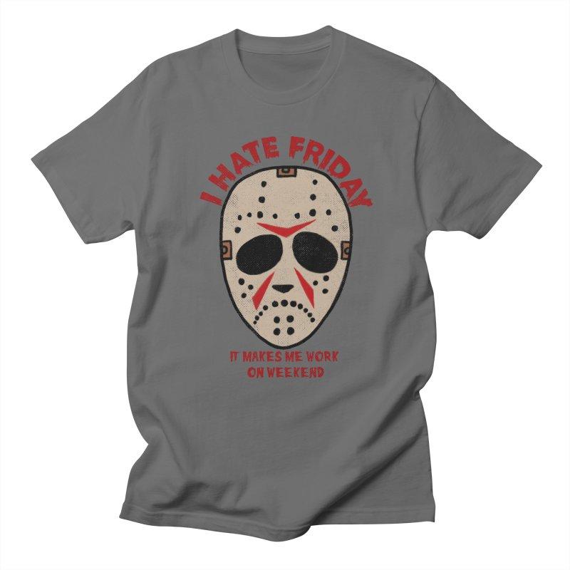 I Hate Friday Men's T-Shirt by kooky love's Artist Shop