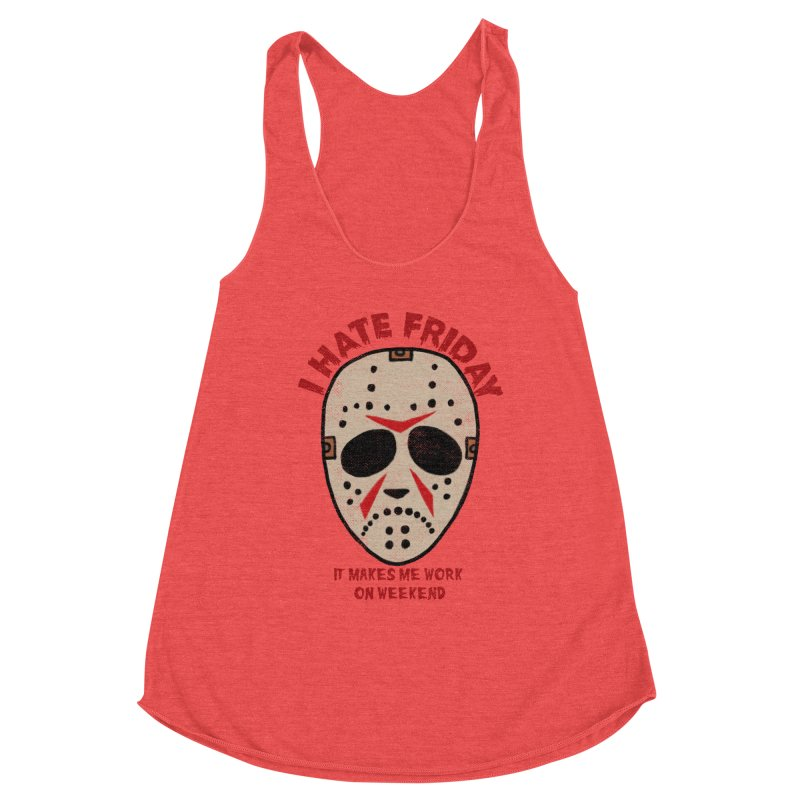 I Hate Friday Women's Tank by kooky love's Artist Shop