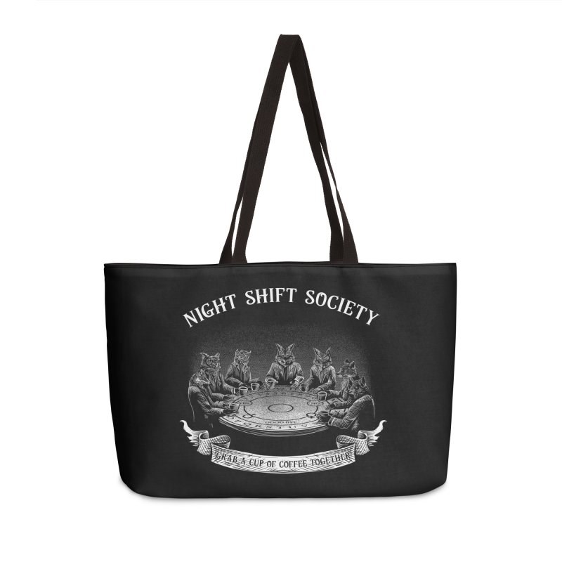 Night Shift Society Accessories Weekender Bag Bag by kooky love's Artist Shop