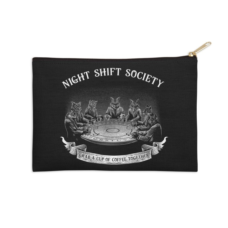 Night Shift Society Accessories Zip Pouch by kooky love's Artist Shop